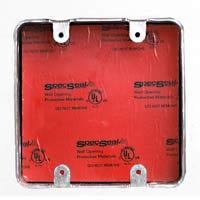 Insert de protection coupe-feu pour boîtier électrique - Série EP - STI